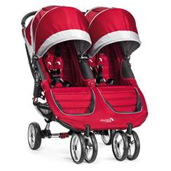 Passeggino City Mini Double Crimson/Gray