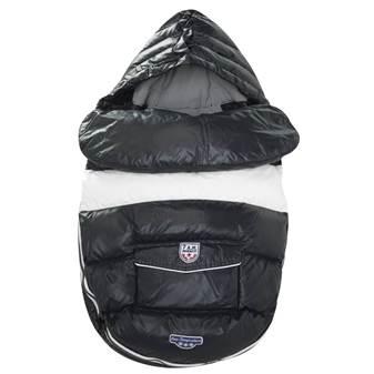 Sacco Invernale Baby Shield Black