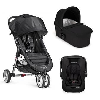 Trio City Mini 3 Deluxe Black/Gray