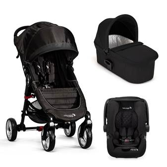 Trio City Mini 4 Deluxe Black/Gray