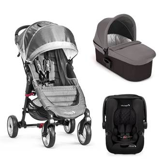 Trio City Mini 4 Deluxe Steel Gray/Gray