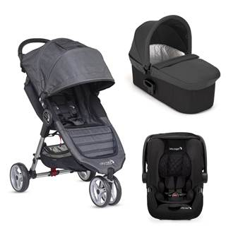 Trio City Mini 3 Deluxe Charcoal