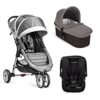 Trio City Mini 3 Deluxe Steel Gray/Gray