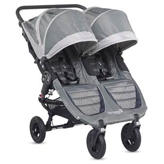 Passeggino City Mini Double GT Steel Gray/Sand