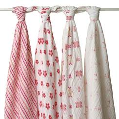 Set 4 Copertine Swaddle PRINCESS POSIE
