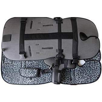 SLEEP & GO Porta Bebè argento/maculato grigio