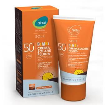 CREMA FLUIDA SOLARE BIMBI SPF 50 125 ml