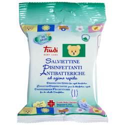 Salviettine disinfettanti antibatteriche 20 pezzi