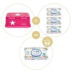 Promo Dispenser Hot Pink Star + Salviettine Trudi
