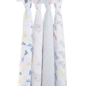 set 4 copertine Swaddle leader of the pack