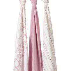 set 3 copertine Swaddle Silky Soft tranquillity