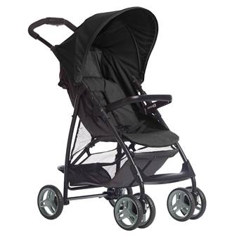 Passeggino LITERIDER LX Black Grey
