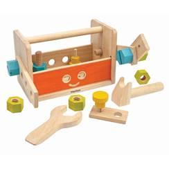 Cassetta degli attrezzi in legno Robot