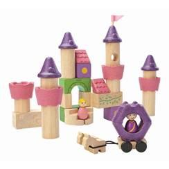 Blocchi in legno Castello delle Fiabe