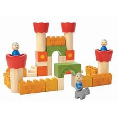 Blocchi in legno Castello