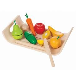 Tagliere di Frutta e Verdura in legno