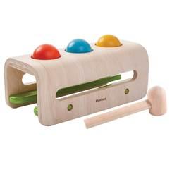 Gioco in legno martello e palline