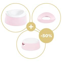 PROMO VASINO + RIDUTTORE WC Pretty Pink