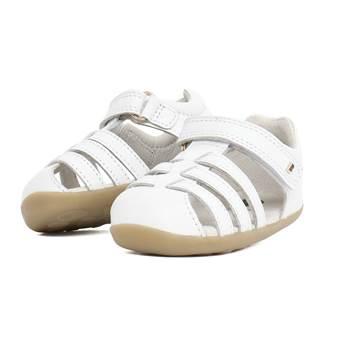 Sandalo Primi Passi Step up Jump White 18