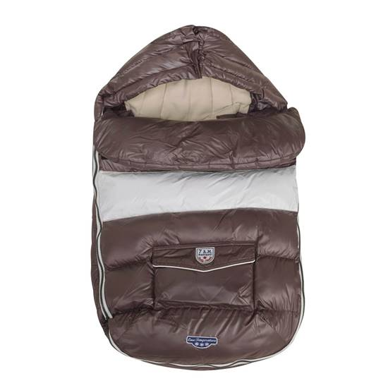 Picture of Baby Shield Footmuff Marron Glacè