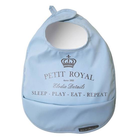 Picture of Baby Bib Petit Royal Blue