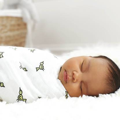 Picture of Classic Swaddle JUNGLE JAM - 4 pz