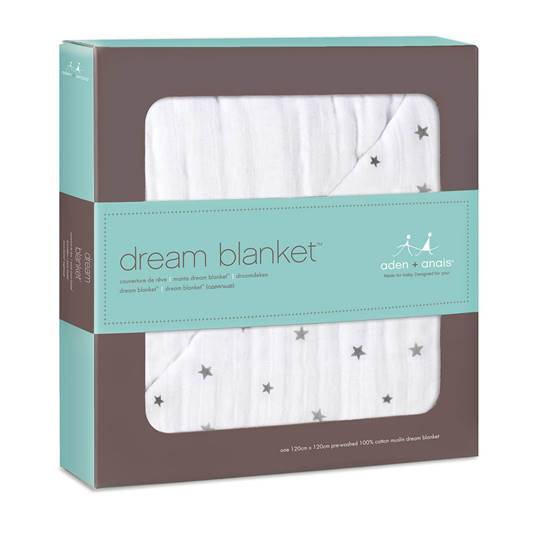 Picture of Classic Dream Blanket TWINKLE Small Star/White