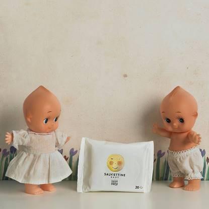 SALVIETTINE BABY Momina 20 PEZZI