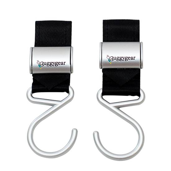 Picture of BOUTIQUE STROLLER HOOKS (SET OF 2)  Black