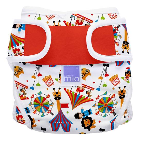 Picture of MIOSOFT Nappy Cover Size 1 Circus Times