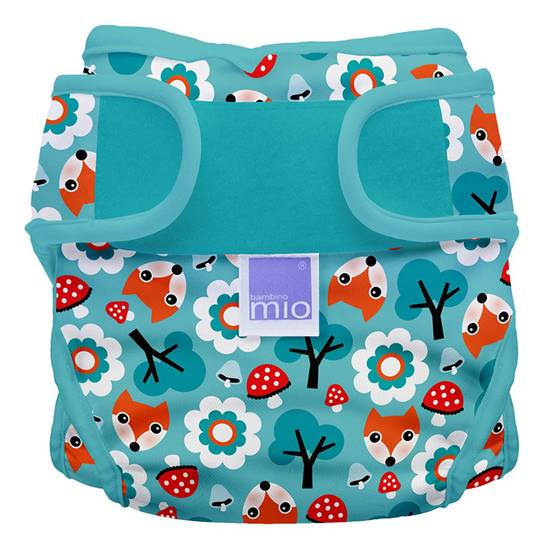 Picture of MIOSOFT Nappy Cover Size 1 Woodland Fox