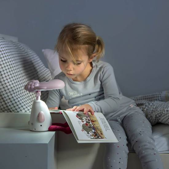 Picture of Fin the Sheep reading light Pink
