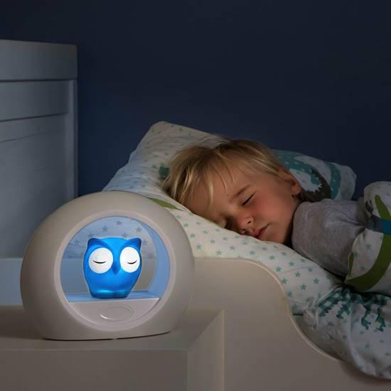 LOU IL GUFO luce notturna Blu