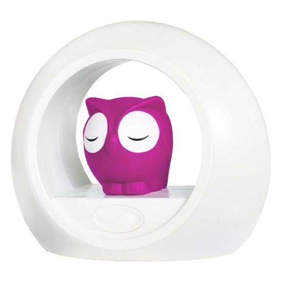 Picture of Lou the Owl Nightlight Pink