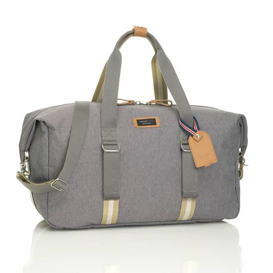 BORSA WEEKEND CON ORGANIZER DUFFLE Grey