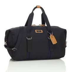 BORSA WEEKEND CON ORGANIZER DUFFLE Black