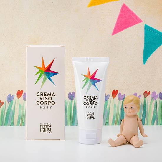 Picture of BODY FACE BABY CREAM CARLOTTINA 100 ML