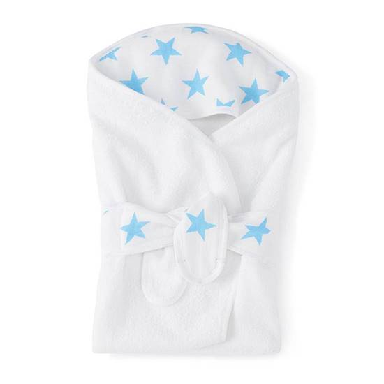 Picture of Baby Bath Wrap FLURO BLUE