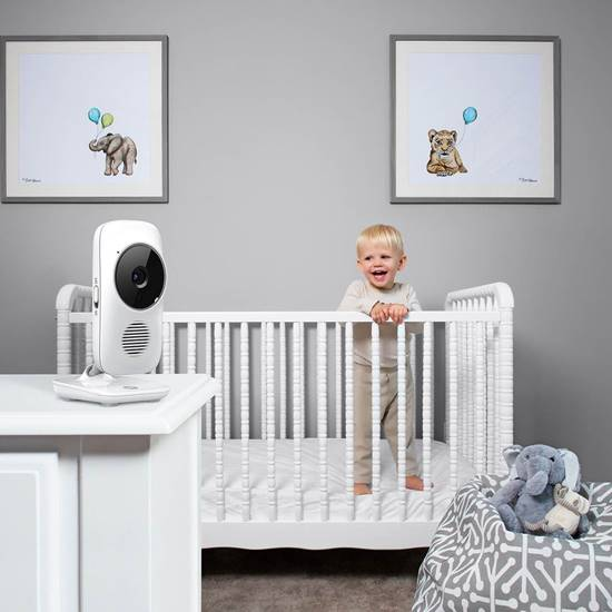 how to connect motorola baby monitor