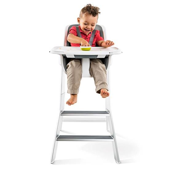 Picture of HIGH CHAIR WHITE/GRAY