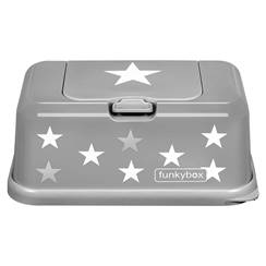 Picture of Baby Wipes Dispenser Grey Stars