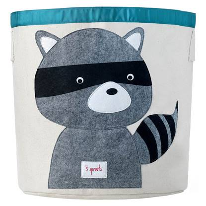Picture of Storage Bin Raccoon