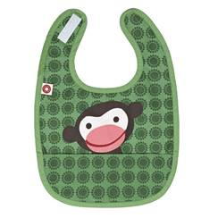 Picture of Green monkey Eat bib