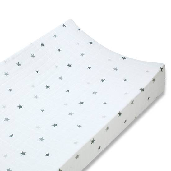 Picture of Changing Mat Cover Classic twinkle silver star