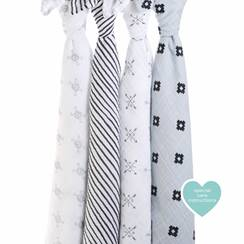 set 4 copertine Swaddle lovestruck