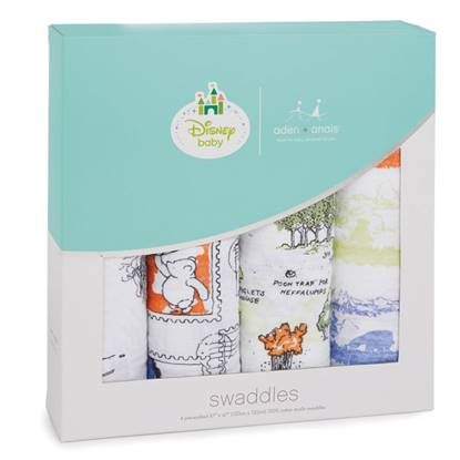 Picture of Swaddle Disney Winnie the Pooh (pack 4)