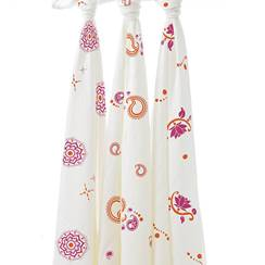 Picture of Swaddle Silky Soft pyara (pack 3)