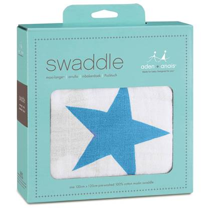 Picture of Swaddle Classic brilliant blue