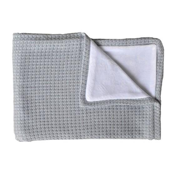 Picture of Blanket LA NINNA SOFT STONE Blu