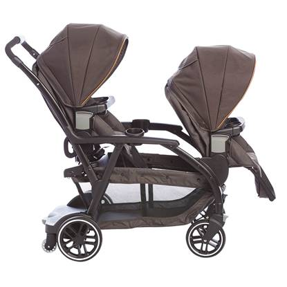 Passeggino GEMELLARE MODES DUO Black Grey